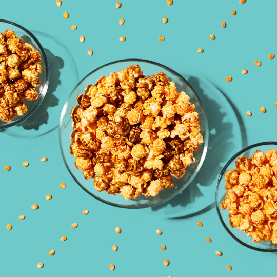 GreenWise Market house-popped caramel and cheddar popcorn